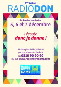 Lancement du Radio Don de Radio Notre Dame