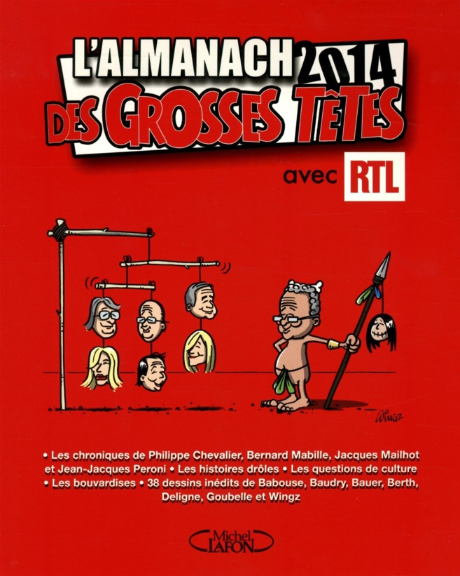 L'Almanach des Grosses Têtes 2014