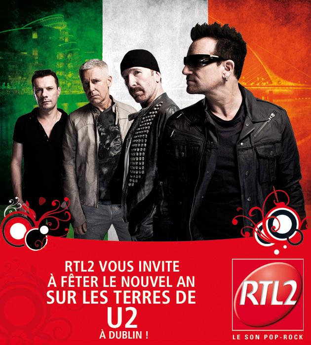 RTL2 offre un réveillon à Dublin