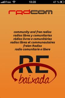 L'application RadCom pour écouter les radios associatives