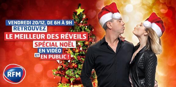 RFM fête Noël