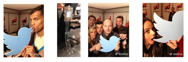 #NMA : plus de 2.8 millions de Tweets