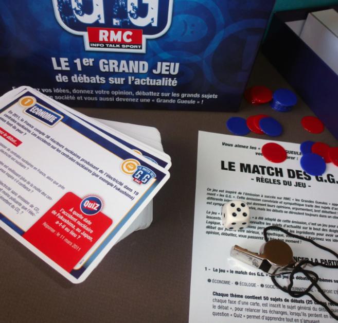 GG sur RMC : et maintenant le jeu