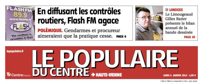 Flash FM agace les gendarmes