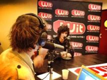 Julian Perretta a répondu aux questions de Wit FM avant de monter sur scène © Wit FM