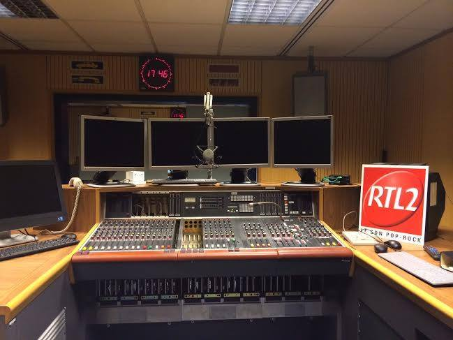 RTL2 Luxembourg aménage ses studios