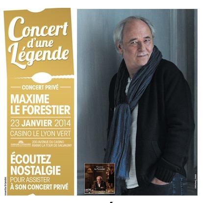 """Nostalgie offre un """"Concert de Légende"""""""