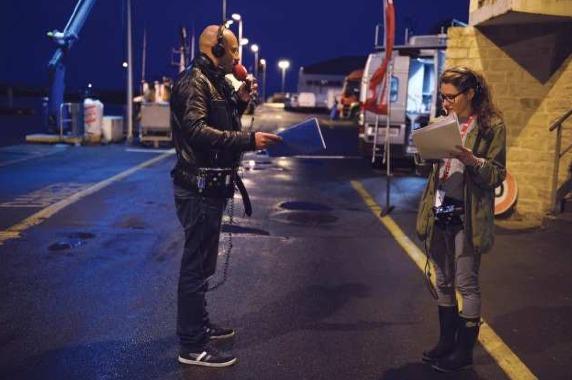 RTL Petit Matin en direct du port de pêche de La Côtinière de l'Ile d'Oléron, en juin dernier. © Elodie Grégoire pour RTL
