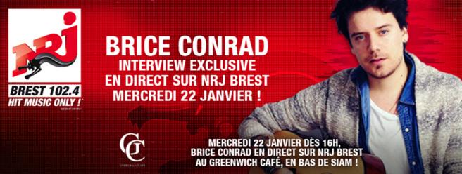 NRJ s'installe à Brest avec Brice Conrad