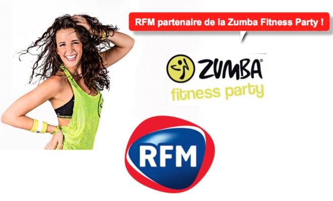 RFM partenaire de la Zumba Fitness Party
