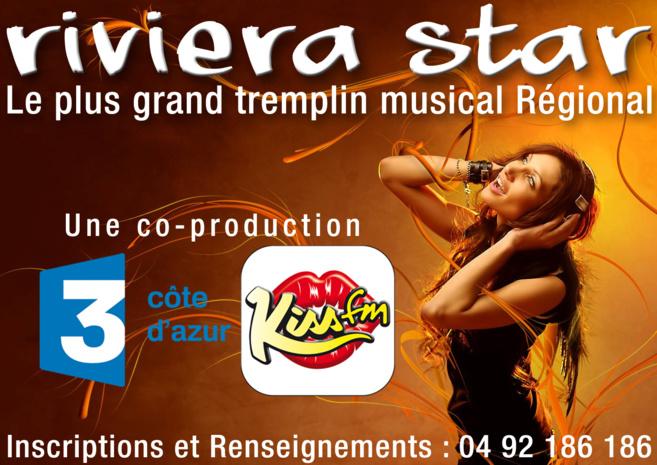 Kiss FM lance le tremplin Riviera Star