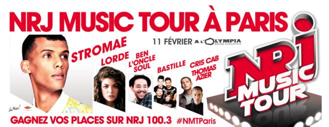 Stromae sur la scène du NRJ Music Tour