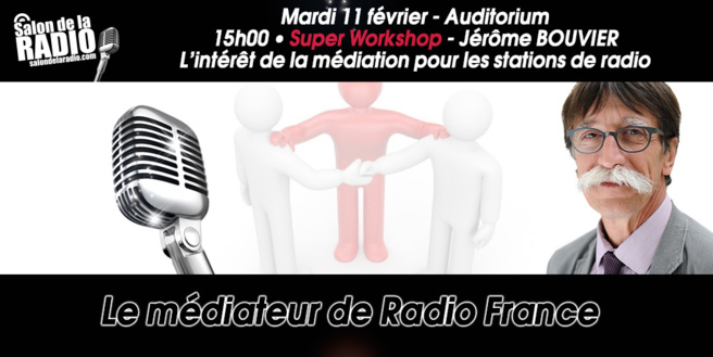"Le ""médiateur"" au Salon de la Radio"