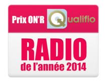 Prix ON'R Qualifio - Radio de l'année - Les lauréats