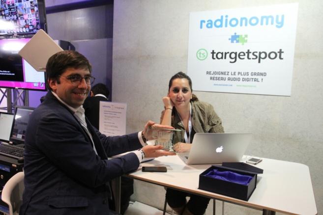 Le Prix ON'R Qualifio du Meilleur Service de l'année 2014 pour Radionomy For Broadcasters
