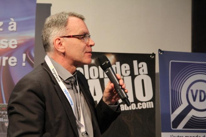 Michel Colin de Mediatic Conseils a été le Maitre de Cérémonie des RadioPub Awards 2014