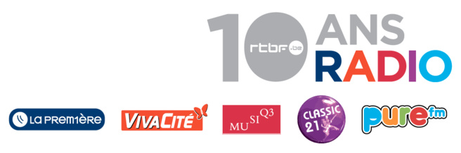 La RTBF fête les 10 ans de sa nouvelle offre