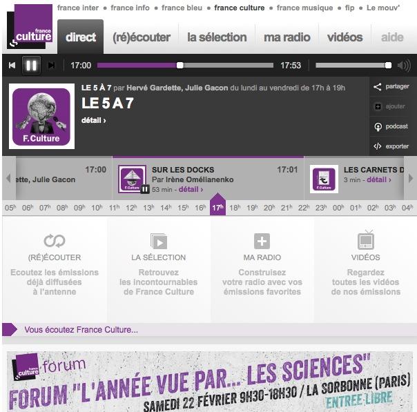 Un Label d'excellence pour franceculture.fr