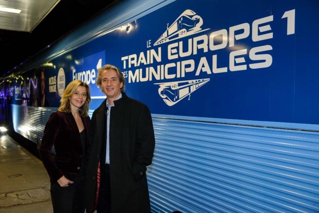 Wendy Bouchard et Nicolas Poincaré, des habitués du Train Europe 1