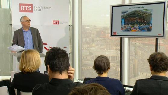 Gilles Pache, directeur des programmes