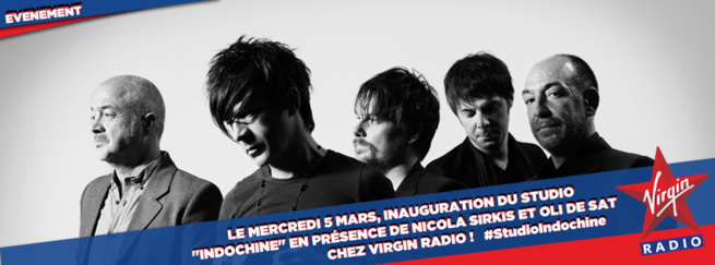 Virgin Radio : inauguration du Studio Indochine