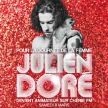 Julien Doré devient animateur sur Chérie FM