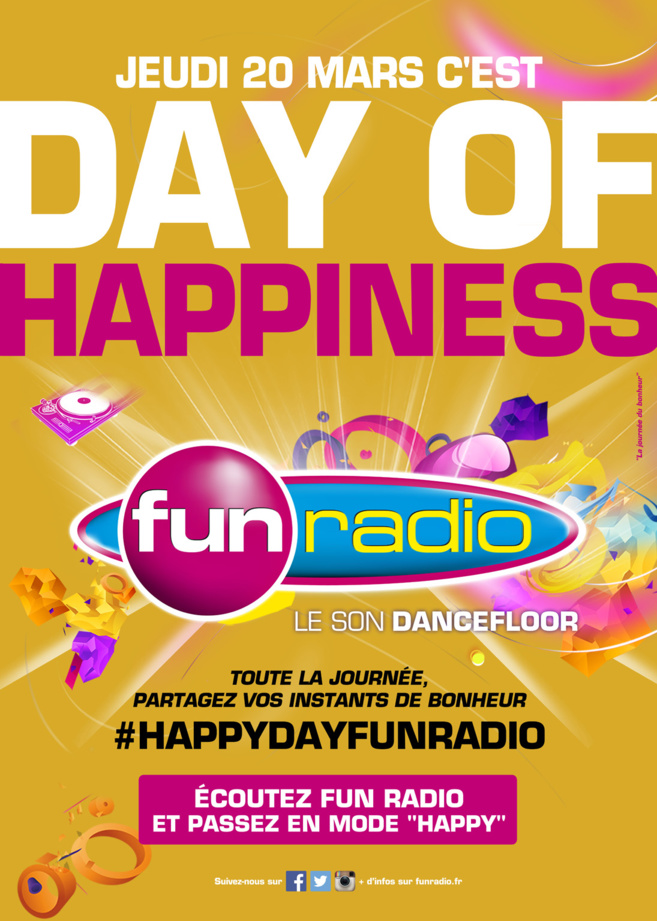 "Fun Radio passe en mode ""Happy"""