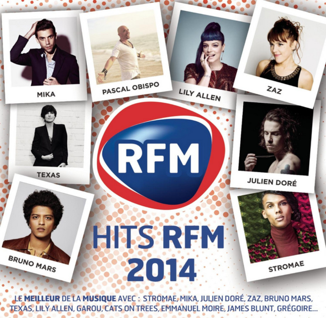 Parution de Hits RFM 2014