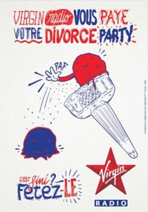 "Virgin paye un ""Divorce Party"""