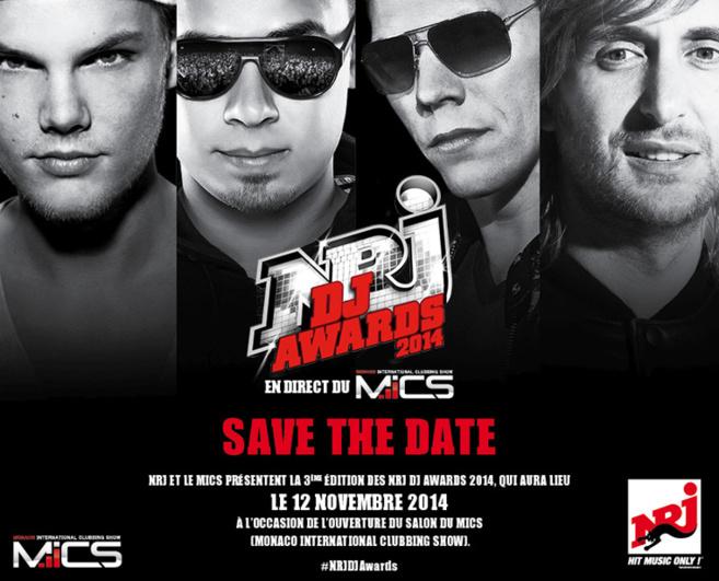 NRJ DJ Awards : ce sera le 12 novembre