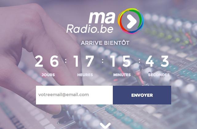 Lancement de maRadio.be