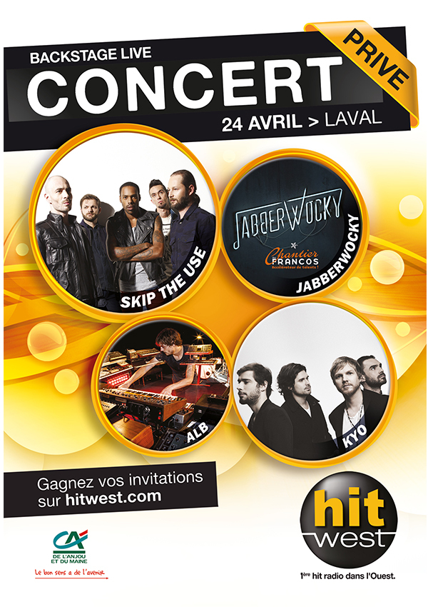 "Hit West : ""Backstage Live"" à Laval le 24 avril"