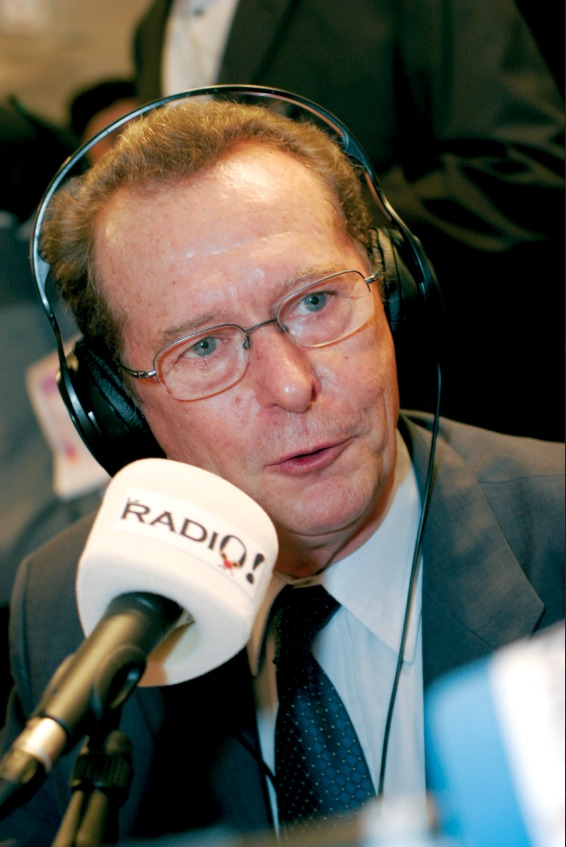 Dominique Baudis inaugurait chaque année le Salon de la Radio (Le RADIO à l'époque) durant tout son mandat.