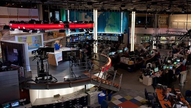 Le Centre de l'information de Radio-Canada, à Montréal