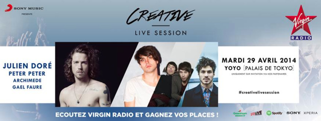 "Virgin Radio : ""Creative Live Session"""