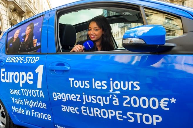 Julia Martin du 28 avril au 2 mai animera l'Europe Stop, le jeu culte d'Europe 1 né en... 1975