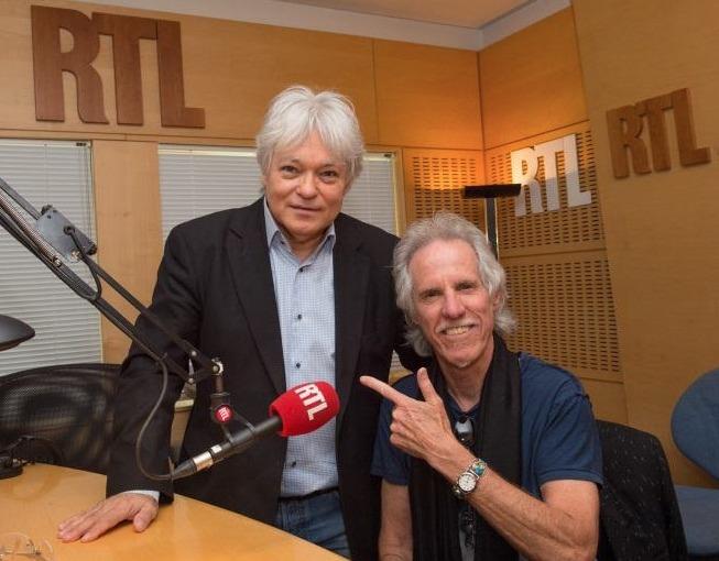 Georges Lang consacrera une émission spéciale à John Densmore © Christophe Guibbaud Abaca Press pour RTL