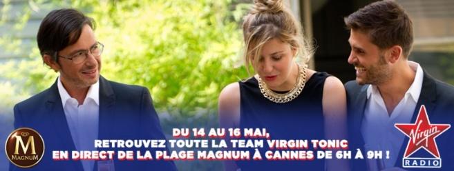 Virgin Tonic en direct de la Croisette