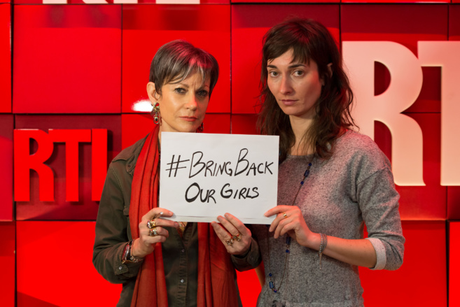 Isabelle Morini-Bosc et Charlotte Latour