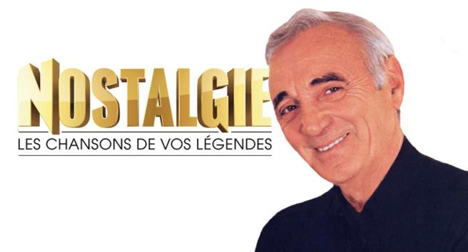 Charles Aznavour animateur sur Nostalgie
