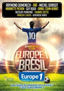 "Brésil : ""l'équipe choc"" d'Europe 1"