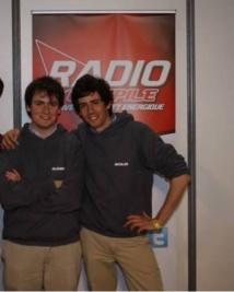 Alexndre et Nicolas Braeckman, les fondateurs de Radio Compile