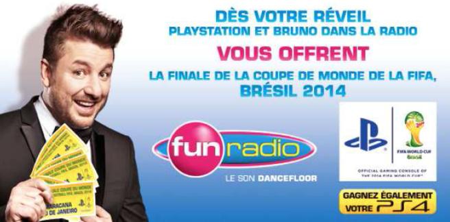 Les auditeurs de Fun au Brésil