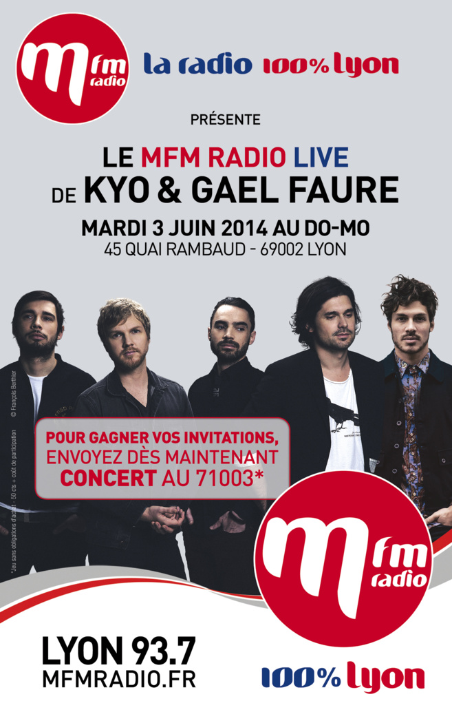 MFM Radio Live à Lyon