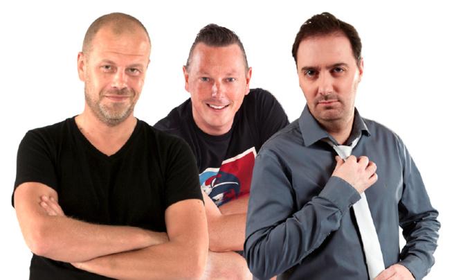 Les DJ's résidents de Contact, Malcolm B, V.I.N.C.E et Julien Vendaume mixeront ce samedi à partir de 14h30 sur le char aux couleurs de la radio du Grand Nord