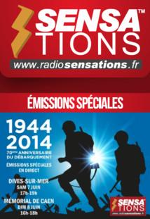 Radio Sensations en direct du Débarquement