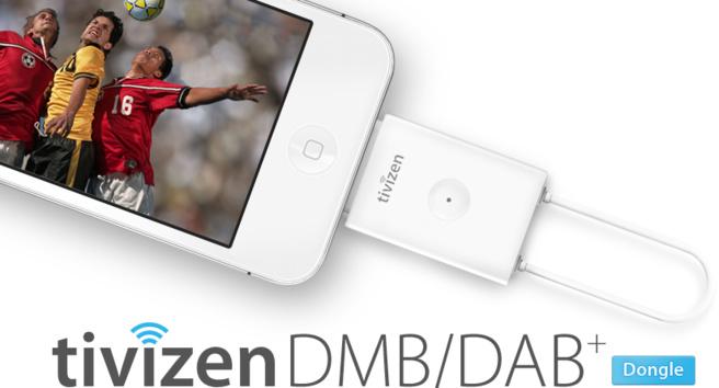 Sur le dongle de tivizen DMB/DAB+ si vous diffusez en T-DMB,vous pourrez recevoir les stations de radio en DMB et en DAB+ mais attention, vos stations seront alors listées dans la partie télévision de l'application ...