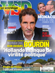 Bourdin fait la une de VSD