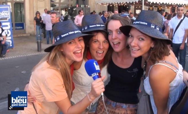 France Bleu Gard Lozère dans la féria