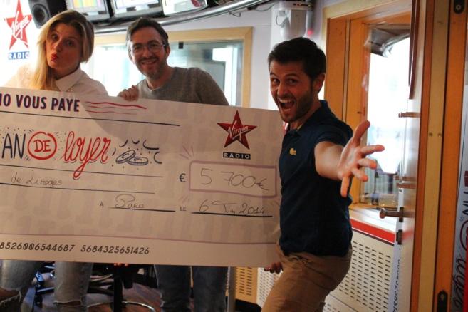 Cédric de Limoges a gagné 1 an de loyer soit 5 700 €